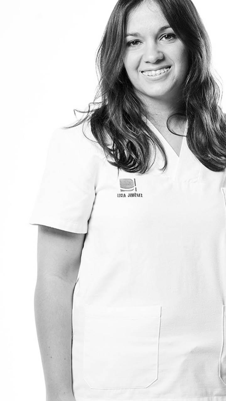 Retrato de Lucía Jimenez Galiano